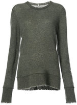 R 13 fluted edge jumper
