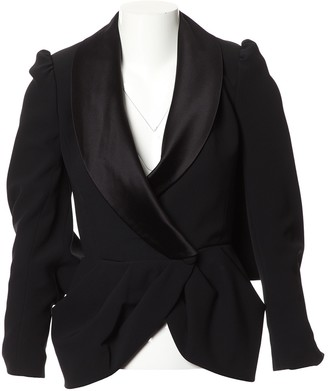 RALPH & RUSSO Black Wool Jackets