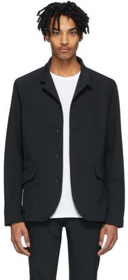 Rag & Bone Black Tech Deconstructed Razor Jacket