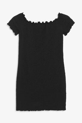 Monki Short sleeve mini dress
