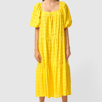 Solid & Striped Peasant Dress