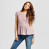Xhilaration Women's Peplum Tee Juniors')
