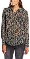 DDP Women's Normal Waist Long sleeve Shirt - Black - 8