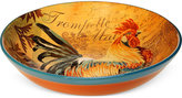 Certified International Rustic Rooster Serving Bowl