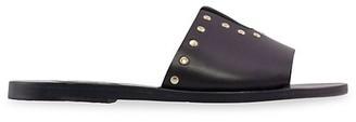 Ancient Greek Sandals Kalomira Studded Leather Slides