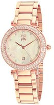 Jivago Women's JV5312 Parure Analog Display Quartz Rose Gold Watch