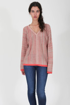 Goddis Nahla Pullover In Coral Mix