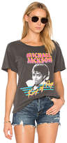 Junk Food Clothing King Of Pop Tee in Charcoal. - size L (also in M,S,XS)