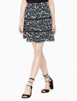 Kate Spade greenhouse lace inset skirt