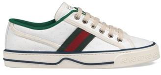 Gucci GG Stripe Tennis Sneakers