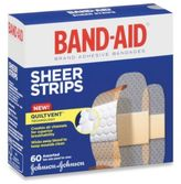 Johnson & Johnson Band-Aid® Assorted Sheer Bandages (60 Count)