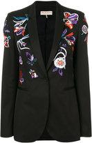 Emilio Pucci floral embroidery blazer
