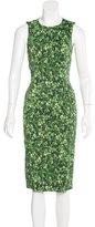 Michael Kors Graphic Print Sheath Dress