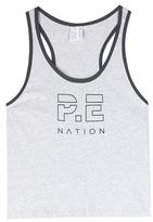 P.E Nation Iceman Printed Cotton Tank Top