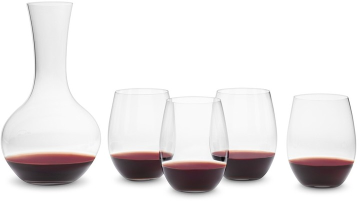 """Riedel O"""" Cabernet Wine Tumblers and Decanter Set"""