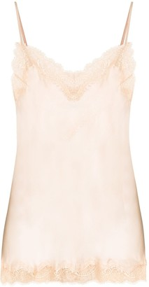 Sainted Sisters Lace-Trimmed Camisole