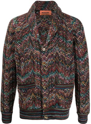 Missoni Zigzag Knit Cardigan