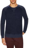 French Connection Peached Garment Dye Raglan Sweatshirt