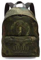Givenchy Dollar-print Satin Backpack