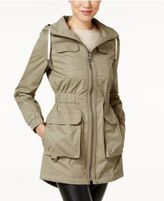 Laundry by Shelli Segal Petite Hooded Utility Anorak