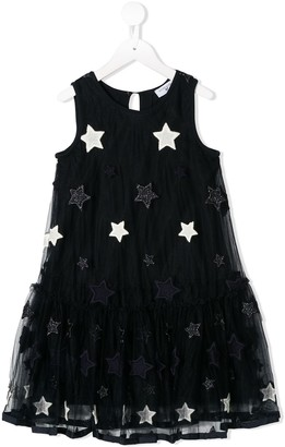 MonnaLisa Embroidered Star Dress
