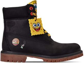 "Timberland 6"" Spongebob Black"
