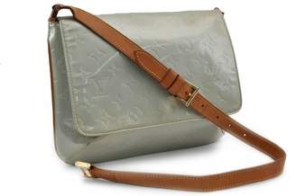 Louis Vuitton Thompson Green Patent leather Handbags