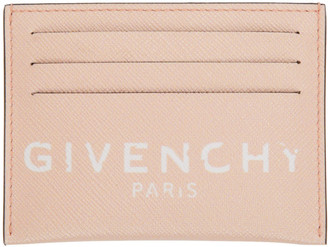 Givenchy Pink Paris Card Holder