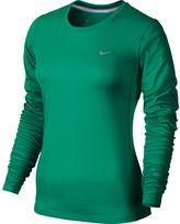 Nike Women's Miler Dri-FIT Crewneck Running Tee