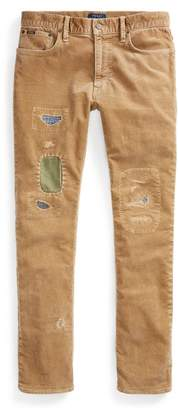 Ralph Lauren Varick Slim Straight Trouser