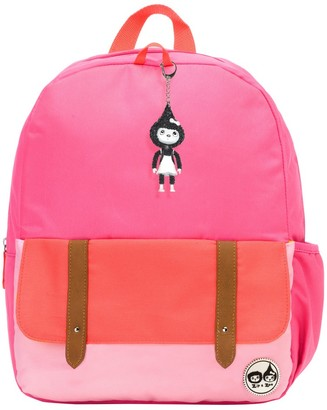 "Babymel Zip & Zoe Junior 15"" Kid' Backpack - Color Block"