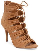 Jessica Simpson Mahiri Suede Open Toe Booties