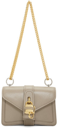 Chloé Grey Aby Chain Bag