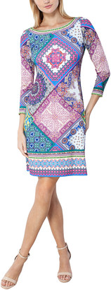 Hale Bob Boat Neck Dress