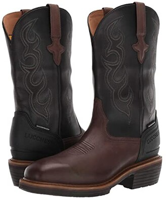 Lucchese Welted Western 12 Work Boot Waterproof Non-Safety Toe