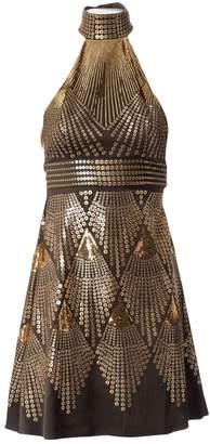 Fendi Khaki Silk Dresses