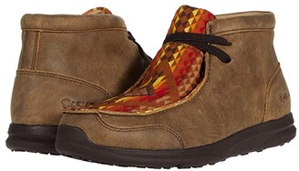 Ariat Spitfire (Toddler/Little Kid/Big Kid) (Brown Bomber/Bold Aztec Print) Cowboy Boots