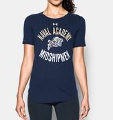Under Armour Women's Navy Charged Cotton® Short Sleeve T-Shirt