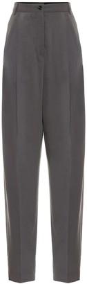 Acne Studios High-rise jacquard pants