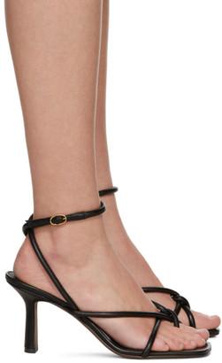 Neous Black Alkes 80 Heeled Sandals