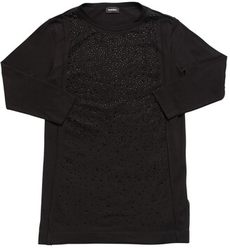 Diesel Embellished Cotton Dress