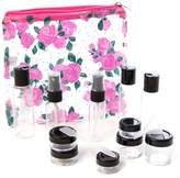 MIAMICA Clear Security Case 15-Piece Set - Floral