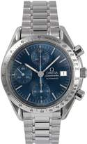 OMEGA Omega Pre-Owned Speedmaster Reduced Date Blue Dial Stainless Steel Mens Watch Ref 3511.80