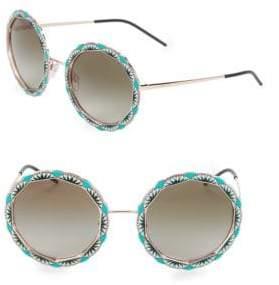 Emporio Armani EA2054 55MM Round Sunglasses