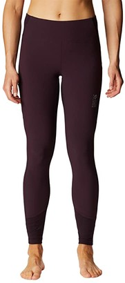 Mountain Hardwear Chockstone Rock Tights (Dark Storm) Women's Casual Pants