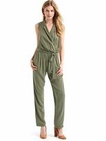 Gap Soft lapel jumpsuit