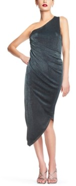Aidan Mattox One-Shoulder Bodycon Dress