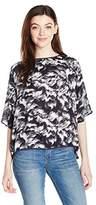 UNIONBAY Women's Patsy Malibu Floral Top
