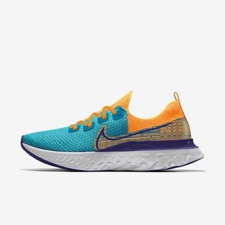 Nike Custom Men's Running Shoe React Infinity Run Flyknit By You