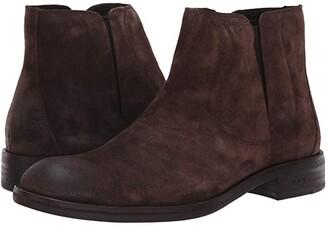 John Varvatos Waverly Covered Chelsea (Dark Brown) Men's Shoes